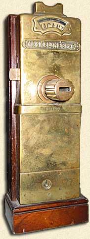 Made Up In Britain Pay Toilet John Nevil Maskelyne 1892